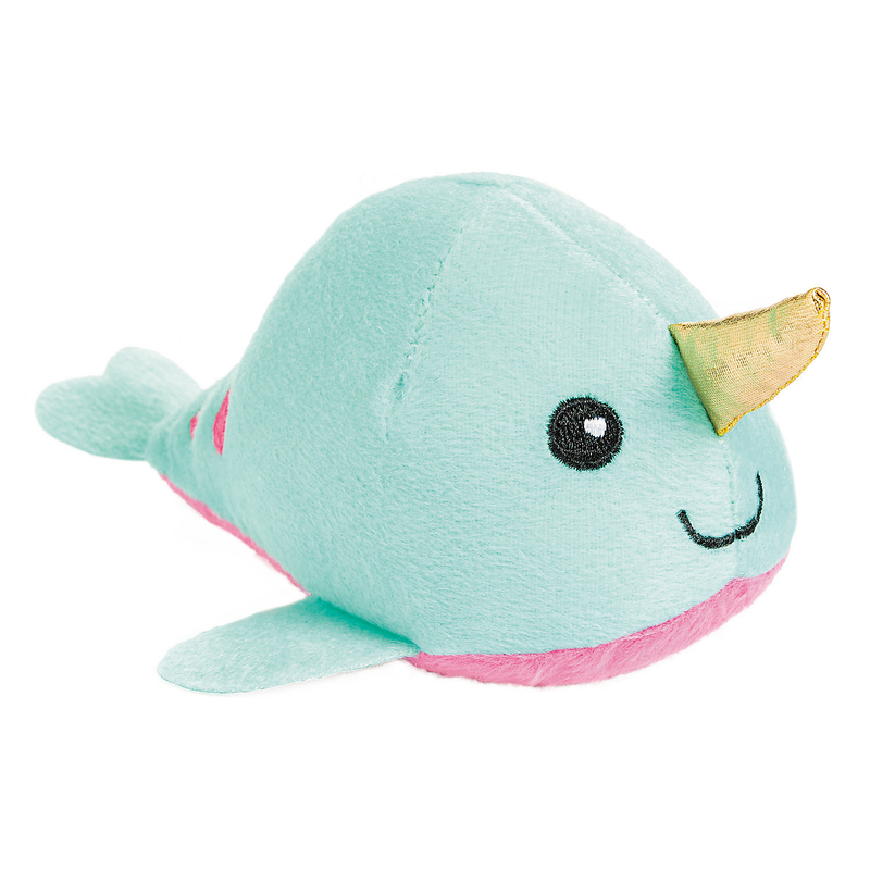 Tusk The Narwhal™ Stuffed Plush Narwhal - Product For A Cause - Benefits World Central Kitchen