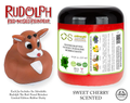 Rudolph The Red-Nosed Reindeer® Limited Edition Gooey Tub Slime™ - Sweet Cherry Scented Bubble Bath - Rudolph Rubber Ducky