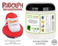 Rudolph The Red-Nosed Reindeer® Limited Edition Gooey Tub Slime™ - Sugar Cookie Scented Bubble Bath - Santa Claus Rubber Ducky