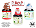 Rudolph The Red-Nosed Reindeer® Limited Edition Gooey Tub Slime™ - Scented Bubble Bath 3 Jar Collection