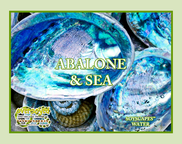 Abalone & Sea Hand Poured Soy Pillar Candles