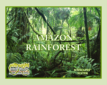 Amazon Rain Forest Hand Poured Soy Pillar Candles