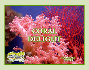 Coral Delight Hand Poured Soy Glass Tumbler Candle