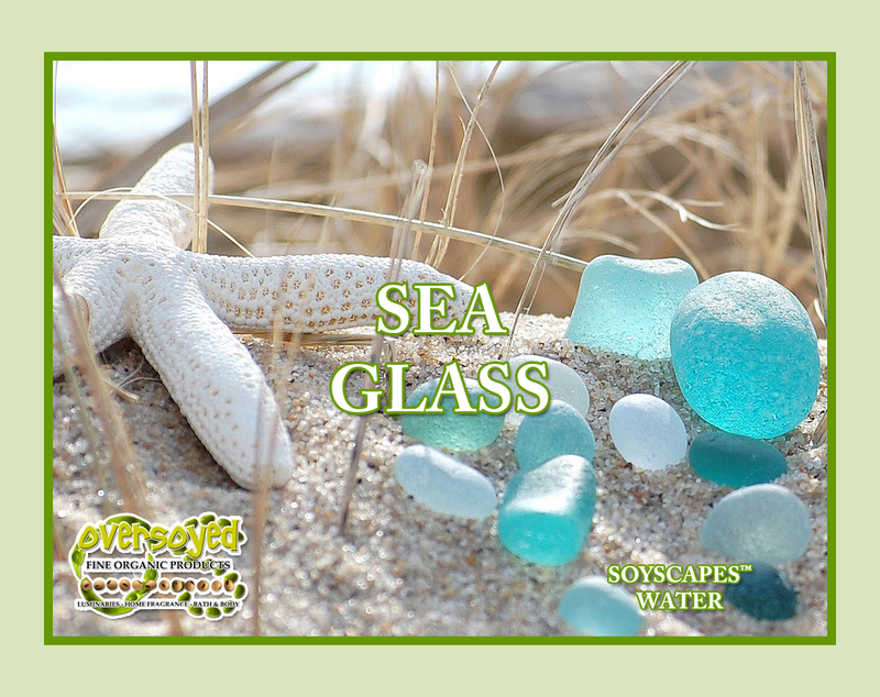 Sea Glass Exfoliating Soy Scrub & Facial Cleanser