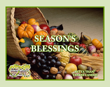 Season's Blessings (Compare To Yankee Candle®) Exfoliating Soy Scrub & Facial Cleanser