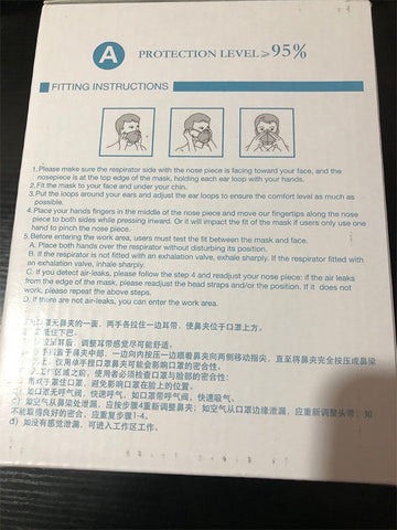 N95 MASK DIRECTIONS