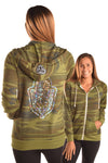 Camouflage Recycled Water Bottle and Organic Cotton Hoodie with Full Chakras
