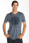 Golden State of Mind on Men's Tri-Blend T-Shirt - Third Eye Threads