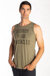 Destroy Your Obstacles on Tank - Third Eye Threads