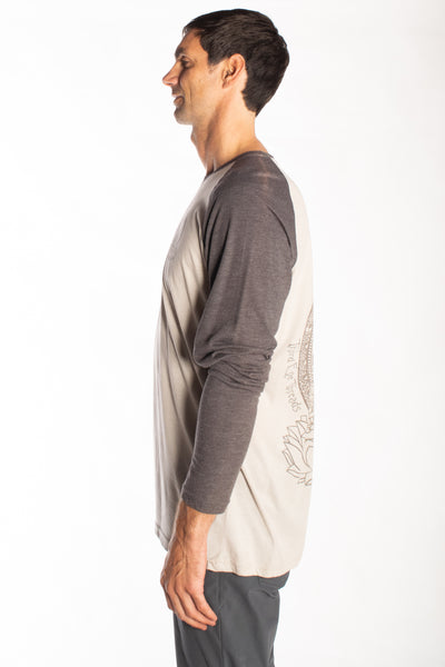 Buddha on L/S Raglan - Third Eye Threads