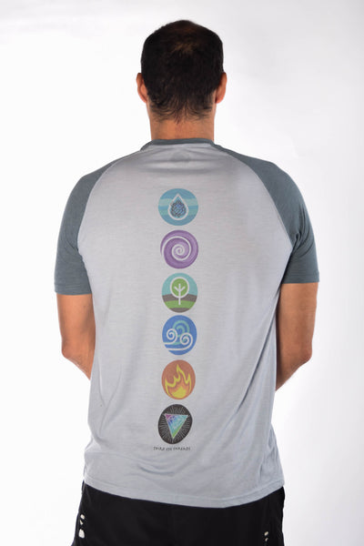 Five Elements Short Sleeve Raglan