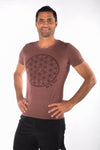 The Flower of Life Triblend Crew Neck Tee