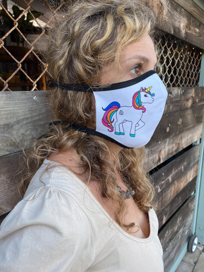 8 Pack Social Distancing REUSABLE MASK COVERS - Third Eye Threads