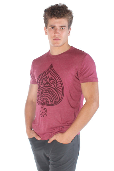 Auspicious Spade Tri Blend Crew Neck Tee - Third Eye Threads