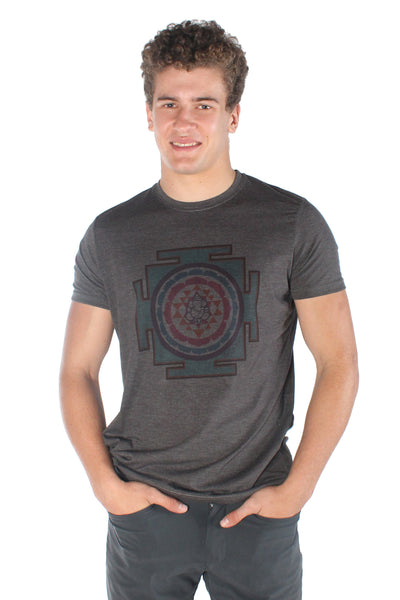 Santa Fe Sri Yantra Short SLEEVE CREW TEE - Third Eye Threads
