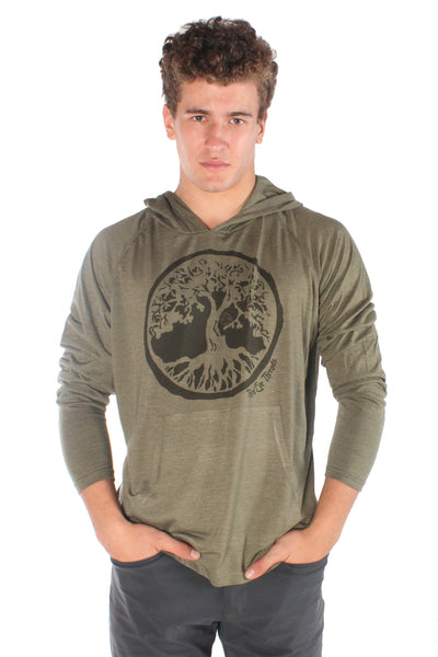 Tree of LIfe On Pull over Hoodie - Third Eye Threads