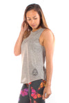 Five Elements Linen Blend Boyfriend Workout Tee - Third Eye Threads