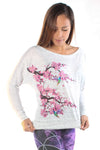 Cherry Blossoms with Humming Birds - Third Eye Threads