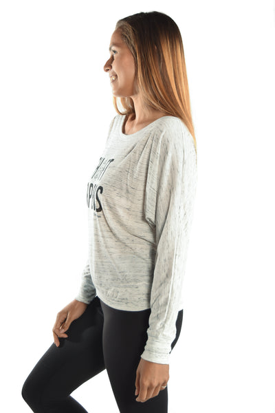 Shift Happens on Oatmeal Dolman - Third Eye Threads