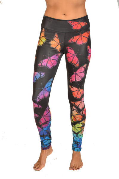 Eco-Light Black Butterfly Pant