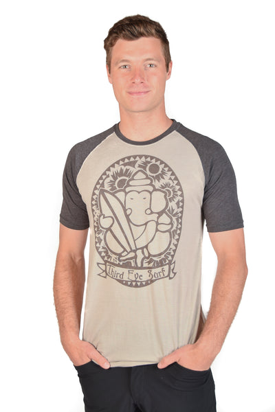 Third Eye Surf Short Sleeve Raglan - Third Eye Threads