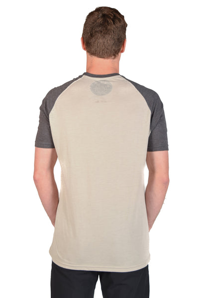 Bruce Lee Short Sleeve Raglan - Third Eye Threads