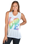 Rainbow Love Boyfriend Tee