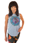 Lakshmi Linen Blend Boyfriend Workout Tee