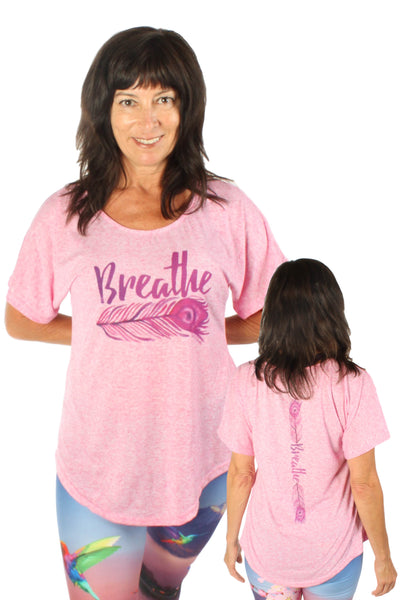 Linen Blended Breathe Dolman Tee
