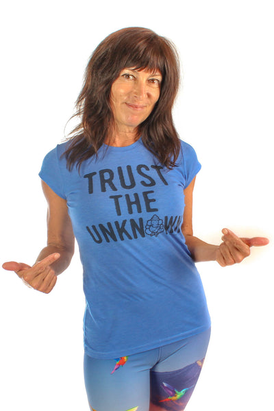 Trust The Unknown Luxury Cap Sleeve Tee - Third Eye Threads