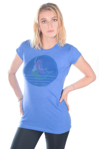 Third Eye Threads Fitted Mermaid Tee - Third Eye Threads