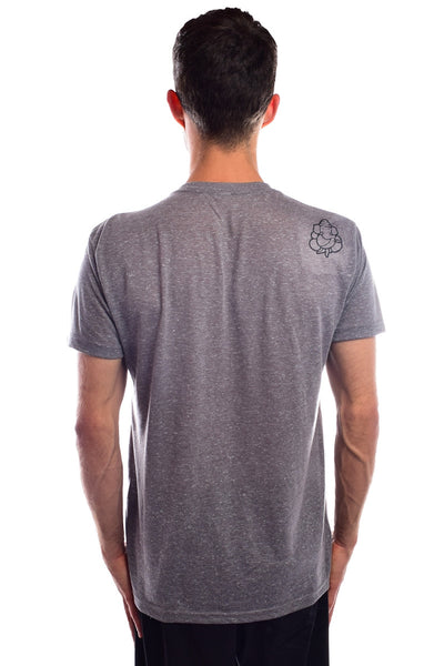 Third Eye Manifesto on AshLinen Blend V-Neck