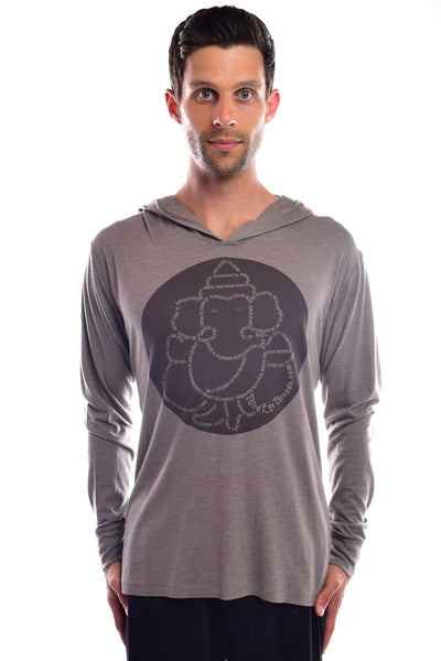 Third Eye Manifesto on Gray Pull-Over Unisex Hoodie - Third Eye Threads