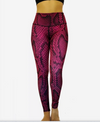 Reversible Pink Snake Skin High Compression Legging