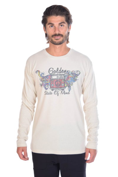Golden State of Mind Hippie Bus on Lightweight Thermal