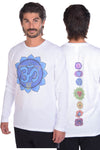 Chakra Front and Full Chakra Back on Lightweight Thermal
