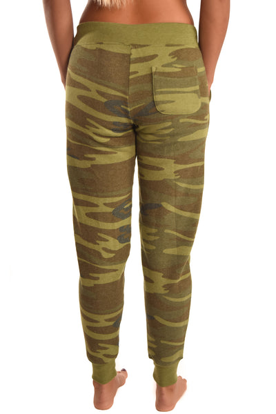 Third Eye Threads Camo Jogger with Diamond Crystal Logo - Third Eye Threads