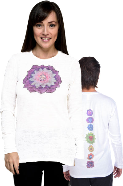 Front and Full Chakra Back on Lightweight Thermal