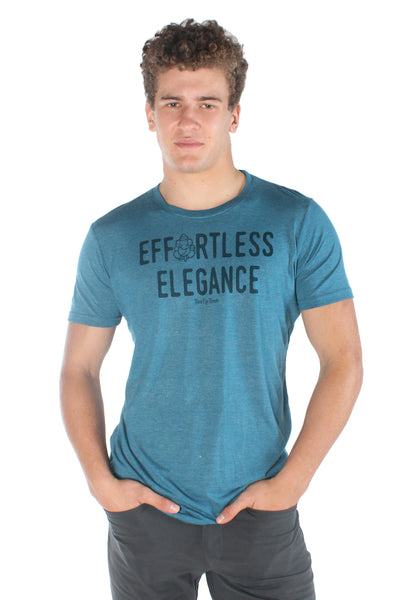 Effortless Elegance TRI-BLEND CREW NECK TEE - Third Eye Threads