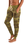 Third Eye Threads Camo Hamsa Hand Jogger - Third Eye Threads