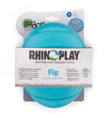 GoDog RhinoPlay Flip Dog Toy. LRG