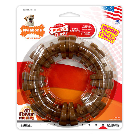 Nylabone® DuraChew® Plus Ring Chew Dog Toy