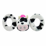 JOLLY PETS TUG-A-MALS. COW. MEDIUM Only.