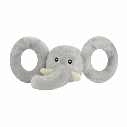 JOLLY PETS TUG-A-MALS. ELEPHANT. MEDIUM ONLY.