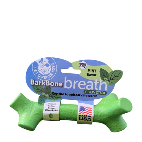 BarkBone Chew Stick for Dogs, mint flavour. LRG
