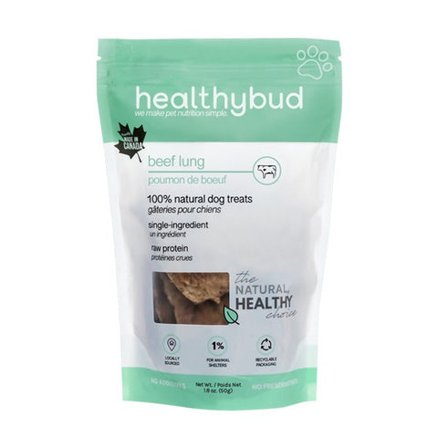 Healthybud. Beef lung treats