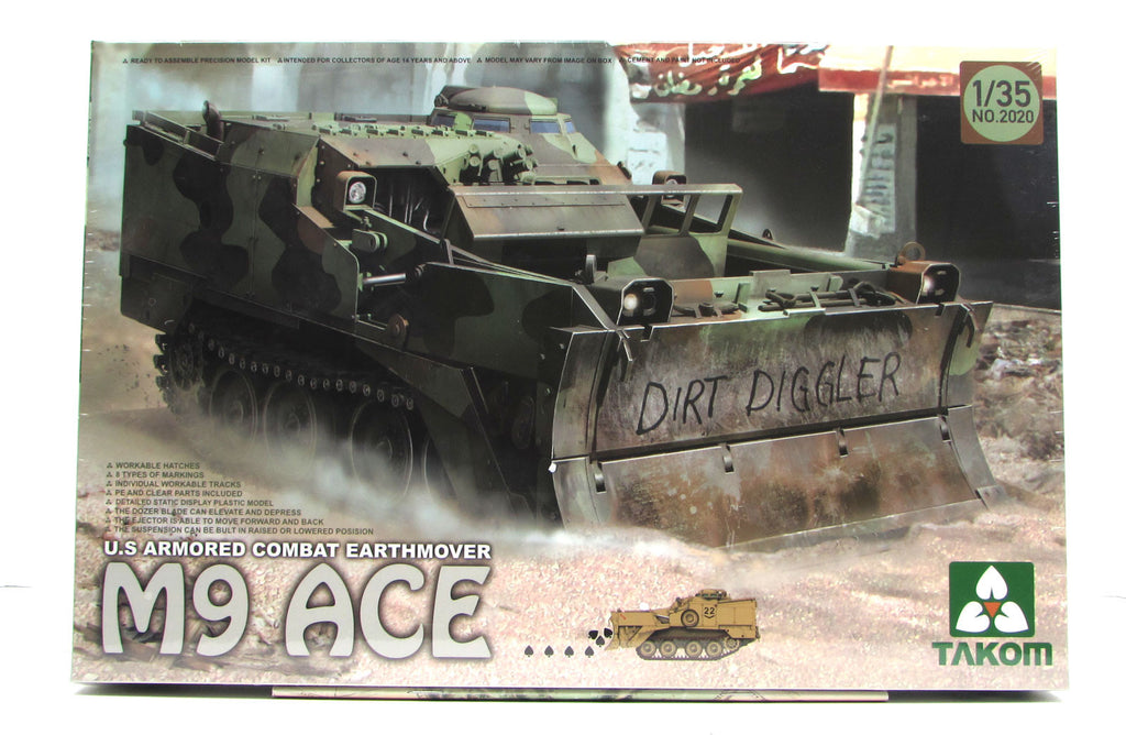 New Plastic Model Kits from Takom