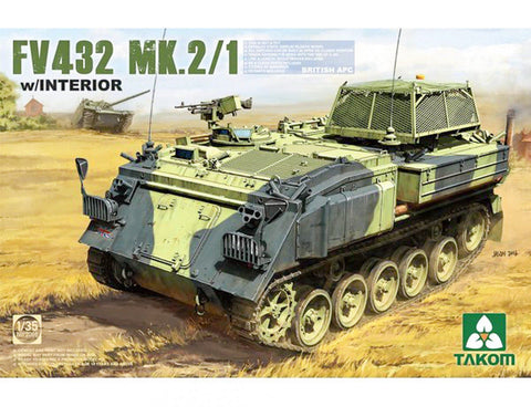 Takom FV432 Mk.2/1 British APC 2066 1/35 Plastic Model Building Kit