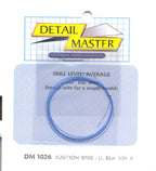 Detail Master DM-1026 Light Blue Ignition Wire 2 ft .012 Thick - shore-line-hobby