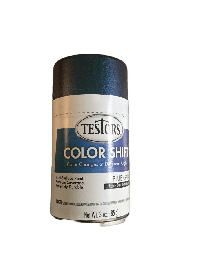 Testors Colorshift Blue Galaxy 3 oz Spray Can 340909 - Shore Line Hobby